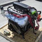 Coyote Race Engine by MMR With Turbos & Exhaust