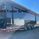 34 Haulmark Edge PRO race trailer 2 awnings