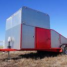 Wedge late model trailer