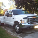 1999 Ford F350 Crew Cab Dually.