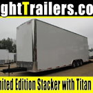 8.5x30 Stacker Race Trailer - Pro Loaded Package - $29,999
