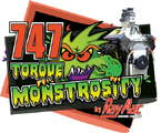 747 BBC Torque Monstrosity Short Block Kit 12.7:1 Compressio
