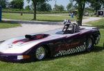 2000 Corvette drag car