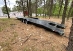 2001 Imperial Two Car Trailer. 3 Car Cheater. Clean title.