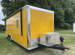 2022 26' YELLOW Concession Trailer