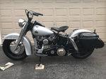 1958 Harley Davidson FLH Panhead
