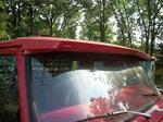 67 to 72 windshield cab visor