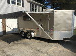 7X14 Enclosed Trailer Toy Hauler
