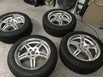 Michelin snow tires w/Voxx rims