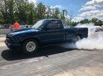 Chevrolet S10 Drag Truck 4 link backhalf