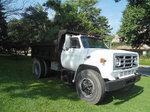 84 GMC  C70 dump truck