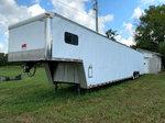 2001 Auto Master 50' race car trailer at auction Dec 5, RB