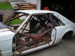 Foxbody Mustang Racecar Chassis