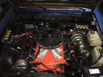 Corvette LS1 Carbed engine
