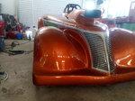 1938 chevy roadster super gas chromoly 4 link wishbone strut
