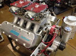 Chevrolet Small Block 358 Pro Stock Engine