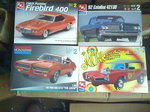 MUSCLE CAR MODELS AND DIECAST
