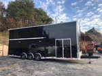 NEW 2019 8.5' x 30' OUTLAW STACKER RACE TRAILER