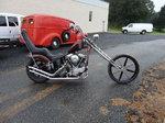 1949 Harley FL Panhead Chopper bobber