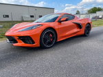 2021 C8 Corvette Stingray Sports Car Two Door Coupe Removal