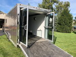 Custom ATC Enclosed Snowmobile Car Race Trailer