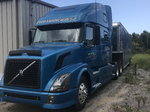 2007 Volvo and 42 ft race trailer