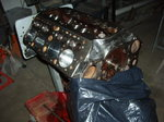 "SCAT 1/2"" STROKER FLATHEAD SHORT BLOCK. 304 C.I.D."