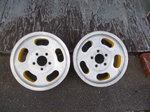15 x 4 1/2 WIDE Chevy slot gasser wheels