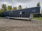 50 foot enclosed trailer with living quarters