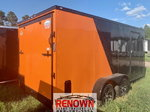 **NEW** 7X16TA Two-Tone BLACKOUT Enclosed Cargo Trailer