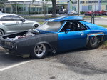1969 AMC AMX Drag Car
