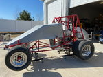 Sprint Cars, 377 Motor, Open Trailer