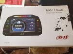 Aim MXS 1.2 Strada Dash and Smartycam