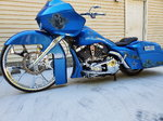 2008 harley Davidson roadglide custom big wheel bagger
