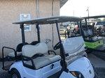 2018 yamaha drive2 gas EFI golf cart 4 seat LED lights, warr