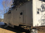 48' semi race trailer with canopy and living quarters&