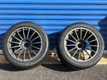 BRAND NEW Forged Finspeed F15 Wheels with Hoosier R7s