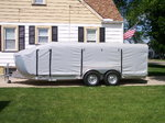 Custom  All Aluminum Lite Wt 20' Trailer