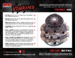 Vengeance Clutch Twin Disc