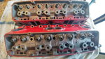 Gm double hump 492 cylinder heads (pair)