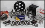BBC CHEVY 496 ASSEMBLY SCAT & WISECO +20cc DOME 4.280
