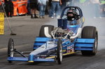 Dragster and Trailer ready to race