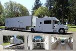 1999 Freightliner FL70 Toterhome +Renegade 40' 3-Car Trailer  for sale $105,000