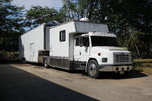 Toter home with 3-car trailer  for sale $62,000