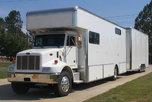 Brand New Peterbilt Motorhome & 2 Car 26' Stacker Traile  for sale $159,900