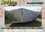 2021 8.5x24' Bravo Race Trailer with Premium Escape Door  for sale $26,999