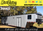2021 8.5x48 Cargo Mate Race Trailer