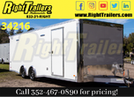 2021 8.5 x 24 Bravo Race Trailer for Sale