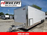 2020 Cargo Mate 34ft Aluminum Frame Enclosed Cargo Trailer  for sale $28,499