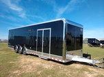 Aluminum Frame 32' Cargo Mate Eliminator SS Race Trailer